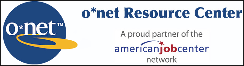 O*Net Resource Center Bar