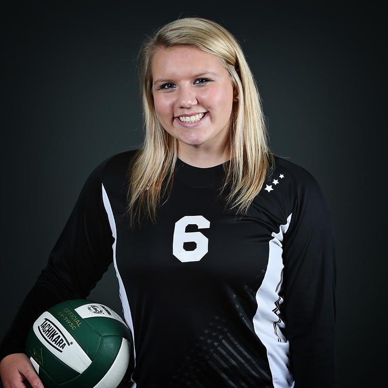 Volleyball Player Aly Platt