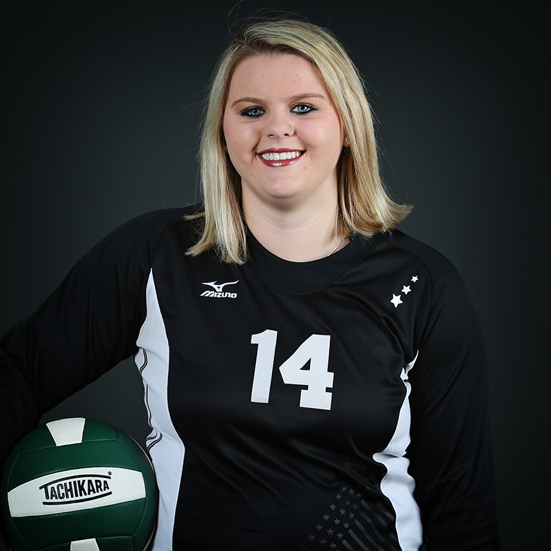Volleyball Player Bethany Cline