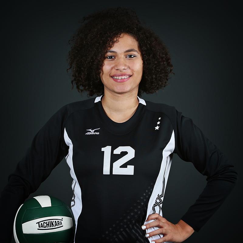 Volleyball Player Celeste Belcher