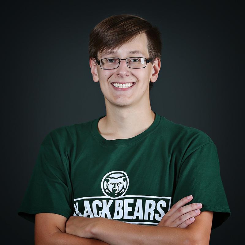 Student Volleyball Assistant Joel Barton