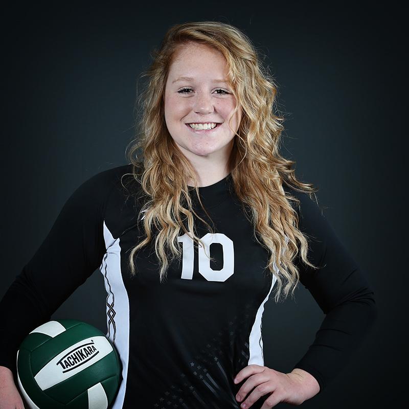 Volleyball Player Kierra McBreen