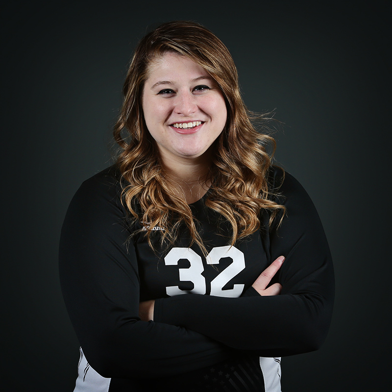 Volleyball Player Lacey Krouse