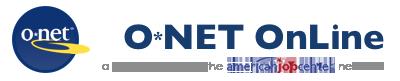 O*NET OnLine Logo