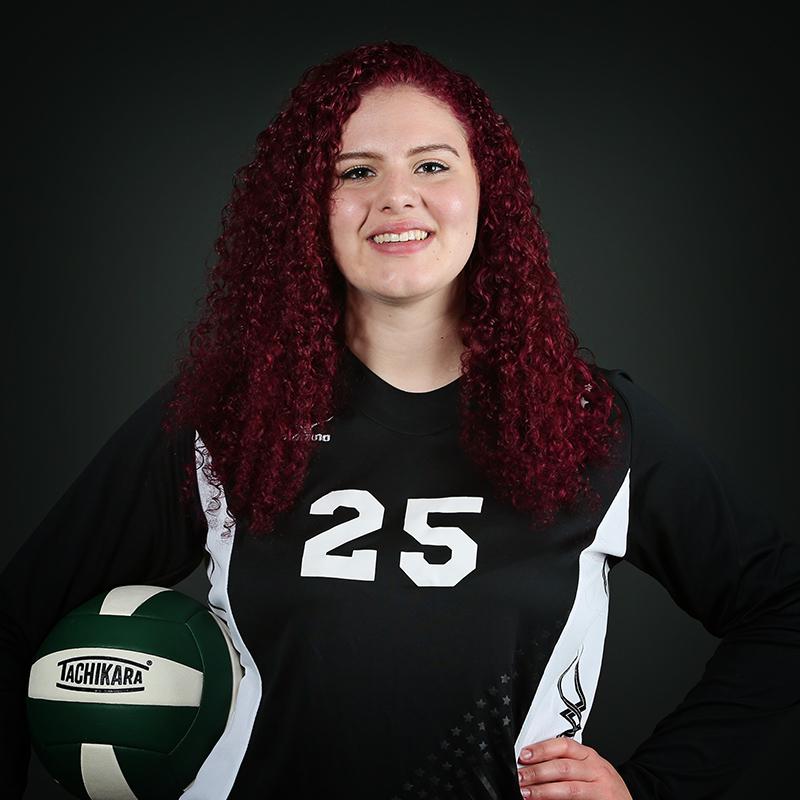 Volleyball Player Shaina Aurandt
