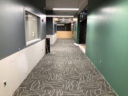 Blair Center Construction.