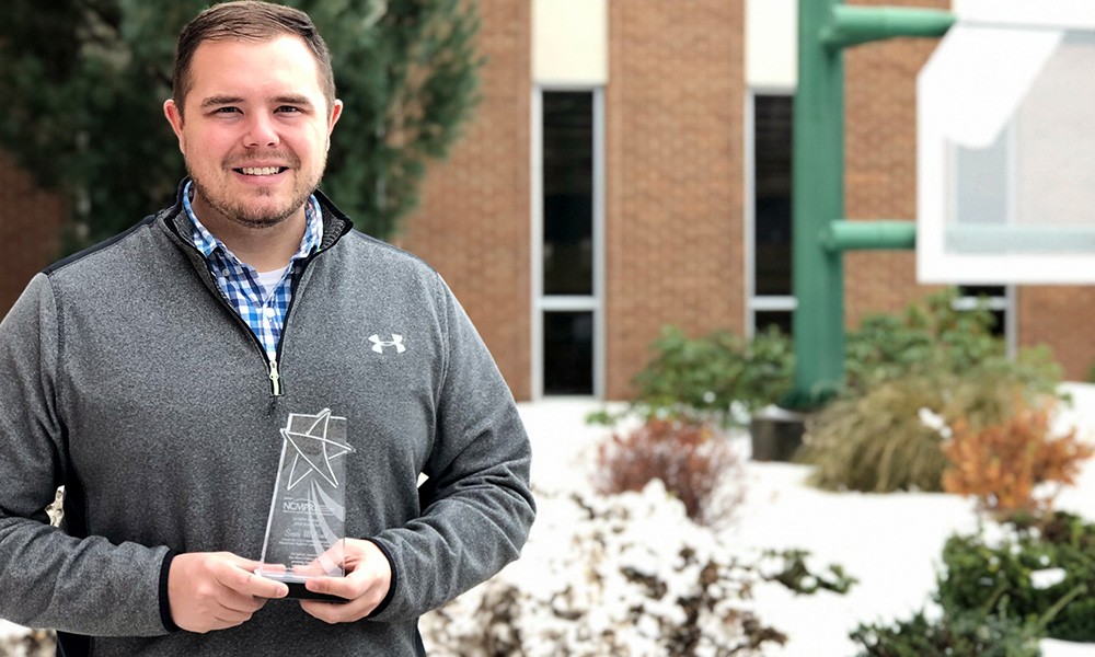 Sean McCool Named District 1 Rising Star Of The Year By NCMPR