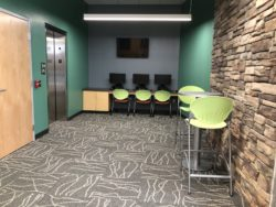 Blair Student Lounge Area