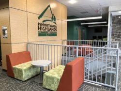 Blair Student Lounge Area