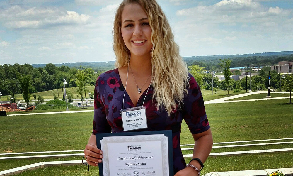 Sophomore Tiffaney Smith Presents At Beacon Conference On Women's Roles & Fashion