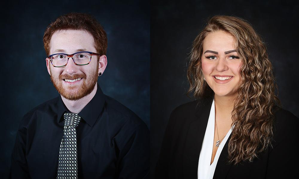 Oliver Lindrose & Tiffaney Smith Named Coca-Cola Academic Team Bronze Scholars