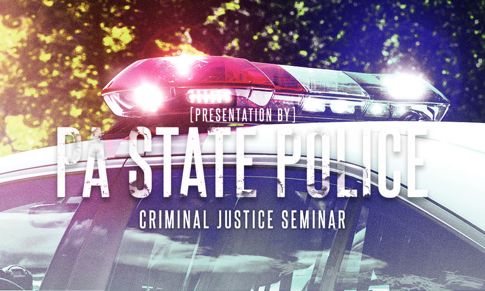 State Police To Present At Annual Criminal Justice Seminar