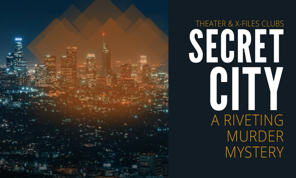 Secret City: College Play Created By Theater & X-Files Clubs