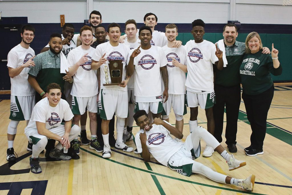 Men's Basketball Team Wins Western Pennsylvania Collegiate Conference Title