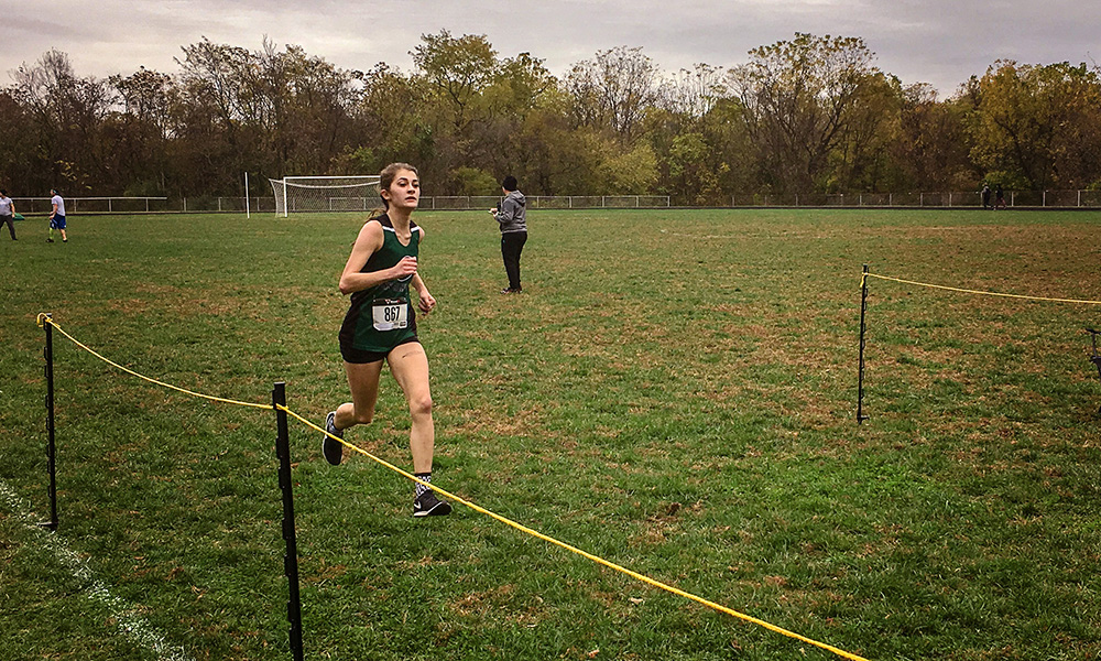 Erica Kovalik Wins Region XX Division III Cross Country Individual Championship