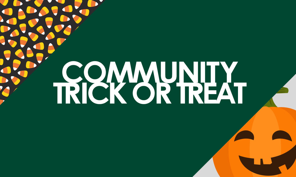 Annual Community Trick Or Treat Planned; Free To Public