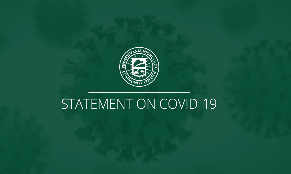 College Statement on COVID-19 (Coronavirus)