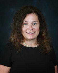 Portrait photo of Lorraine Donahue.