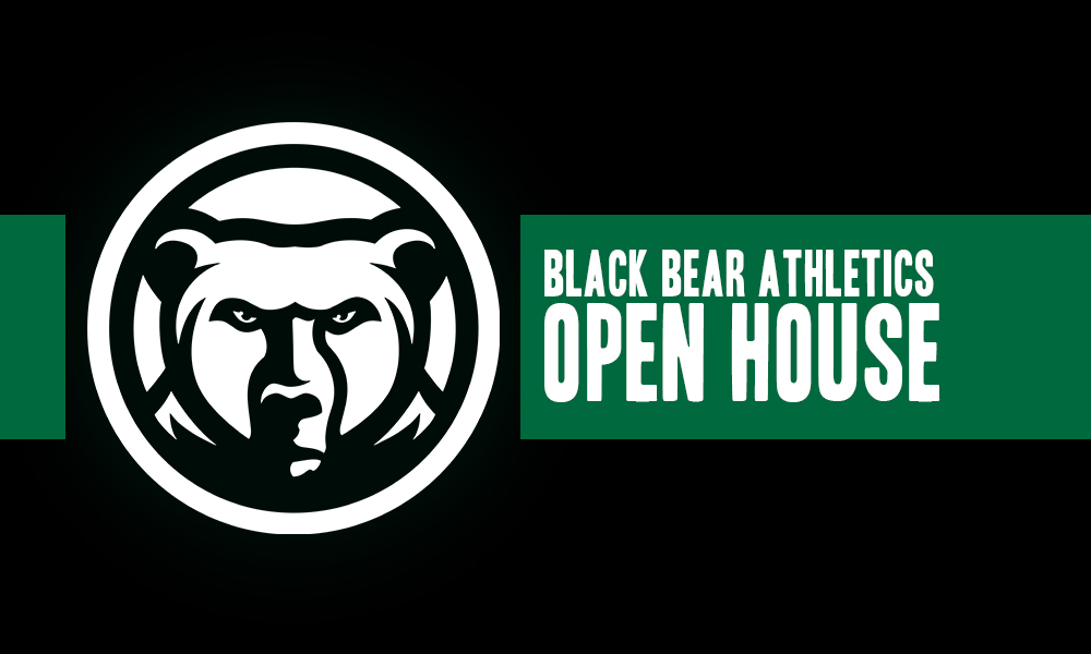 Black Bear Athletics To Hold Open House